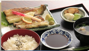 Shirayaki Teishoku (Lightly grilled without sauce set meal) (deluxe)3,500yen